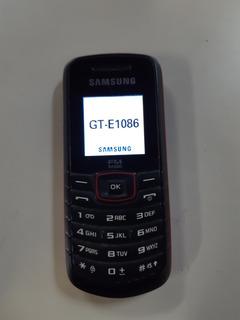 Celular Samsung Op. Claro Antena Rural Fm S/ Acessórios
