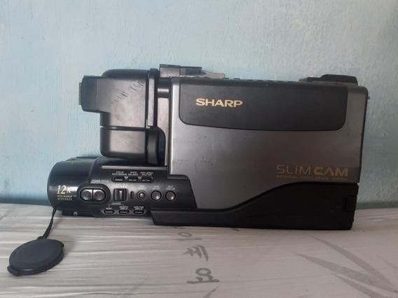 Filmadora Sharp Slim Cam Antiga (não Funciona)