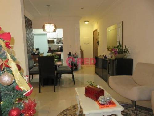 Belo Apartamento No Edifício Savinia - Ap0258