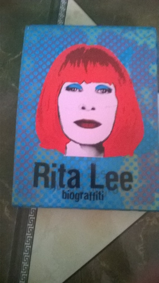 Rita Lee Biograffiti Box Com 3 Dvds Originais