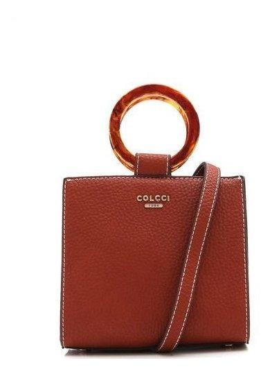 Bolsa Colcci Argolas Caramelo 08657