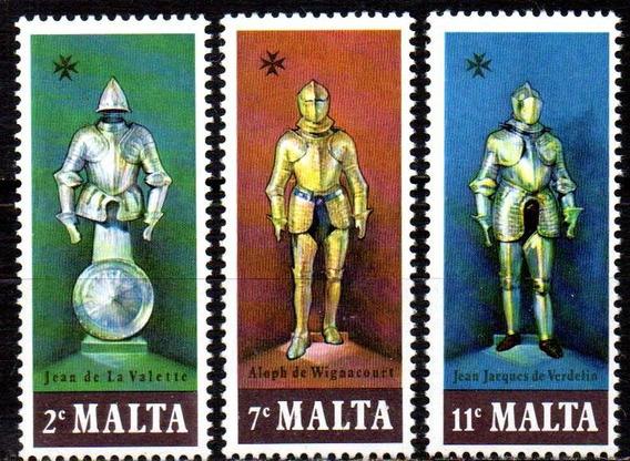 Malta 1977. Grandes-mestres E Cavaleiros (3)