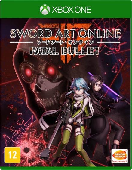 Sword Art Online Fatal Bullet (mídia Física) Xbox One (novo)