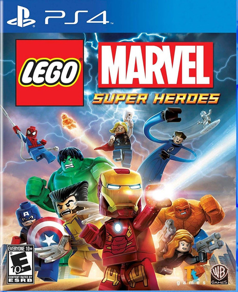 Lego Marvel Super Heroes - Ps4 - Mídia Física