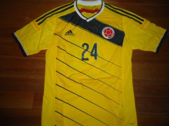 Unica! Camiseta Colombia Original Titular Utileria #24