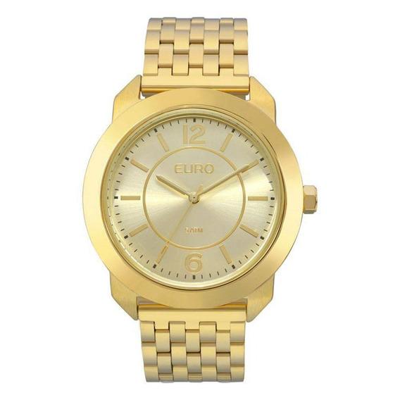 Relógio Euro Feminino Dourado Eu2035ylf/4d