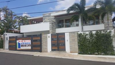 Casa En Cerro De Gurabo Santiago Rd
