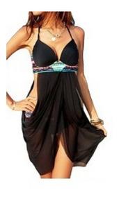 Elegante Traje De Baño Mujer. $549 Bikinis, Pareos Dama