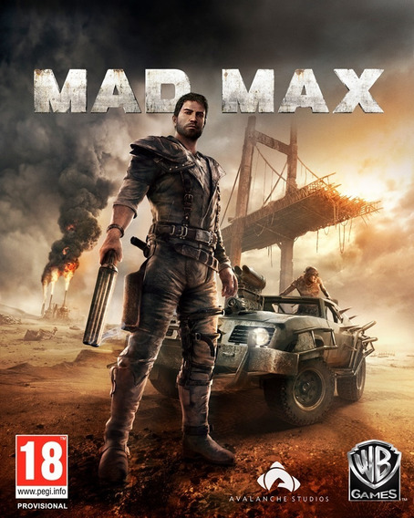 Mad Max - Mídia Digital - Pc + Brinde