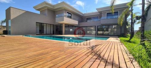 Sobrado Com 5 Dormitórios À Venda, 745 M² Por R$ 6.500.000,00 - Vila Do Golf - Ribeirão Preto/sp - So0545