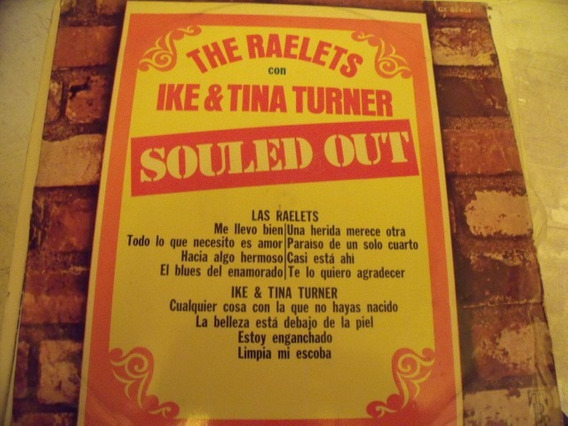 Lp The Raelets Con Ike & Tina Turner,