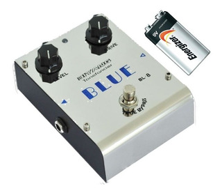 Pedal Biyang Bl8 Blues Overdrive Clasico Año 70 + Bateria 9v