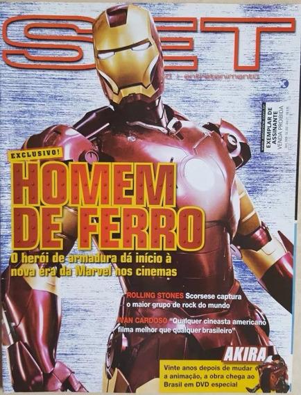 Revista Set 250 Homem De Ferro Marvel Robert Downey Jr Akira