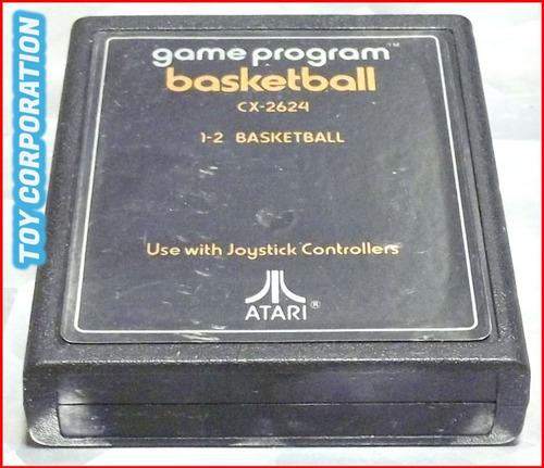 Cartucho Juego Game Program Basketball Atari 2600 Año 1978 @
