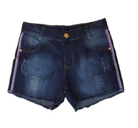 Kit 05 Shorts Jeans Feminino Hot Pants Atacado Cintura Alta