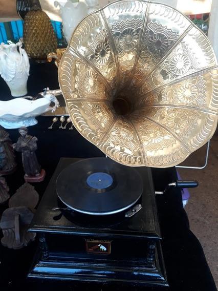 Gramofone Replica Antigo