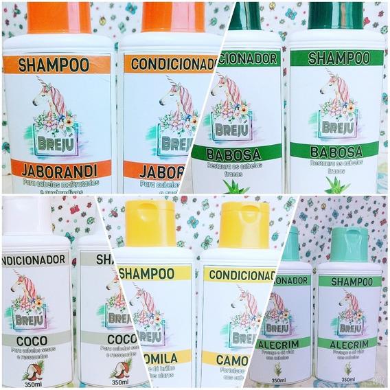 5 Kit Shampoo E Condicionador - 10 Unidades