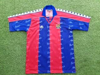 Camisa Fc Barcelona Kappa 1992/1995 Stoitchkov #7 Tamanho G