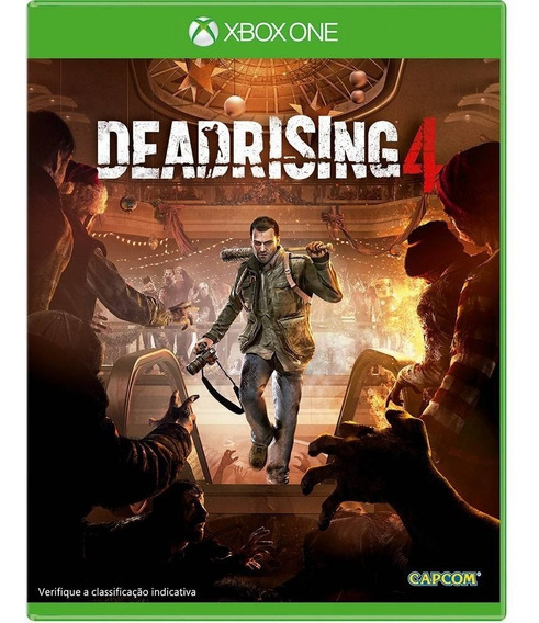 Dead Rising 4 Xbox One Lacrado Mídia Física Em Português