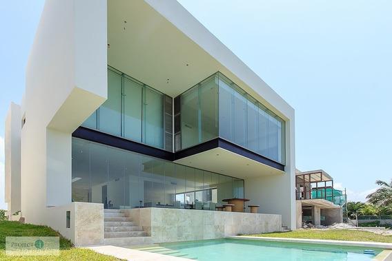 ¡de Revista! Casa En Venta En Puerto Cancún