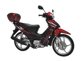 Ciclomotor Phoenix + 50 C Shineray Vermelha Zero Km