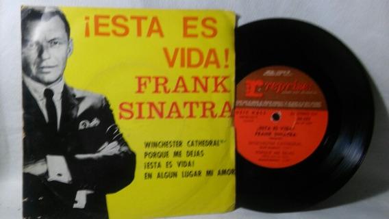 Disco Simple De Frank Sinatra Esta Es Vida