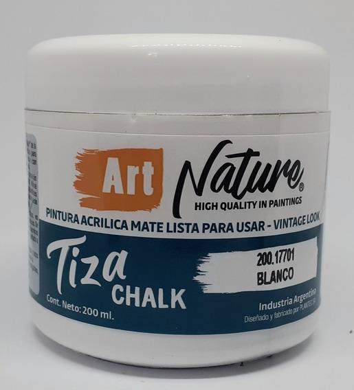 Pintura A La Tiza Nature Blanco