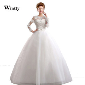 Vestido De Noiva Completo, Coroa, Véu E Saiote