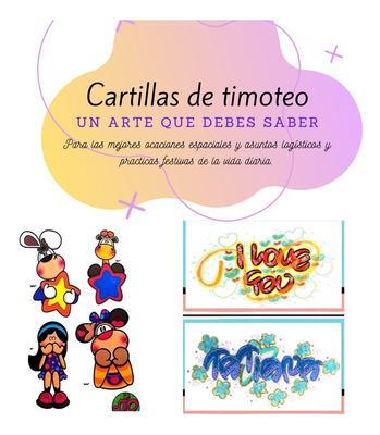 Cartillas De Lettering Y Timoteo- Dibujos Y Ltras