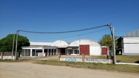 Galpón Y Salón Comercial Sobre Ruta 8 Y 101