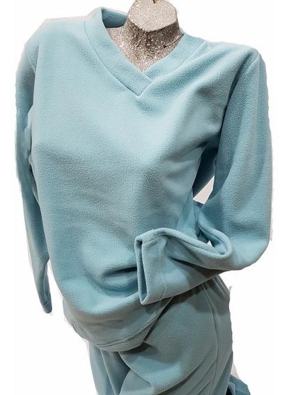 Pijama Dama De Micropolar Norale Talles Del 1/4