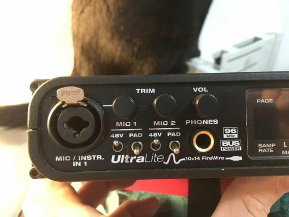 Motu Ultralite Placa De Som Firewire 400