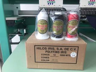 Hilo Para Bordar 5000 Metros Polyfino Iris