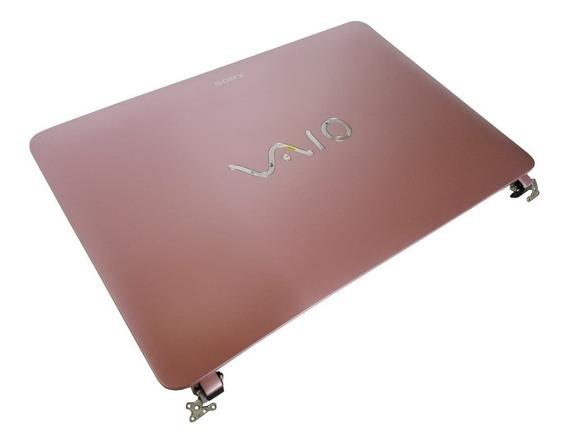 Carcaça Tampa + Tela Touch Sony Svf142c29x 3fhk8lhn040 Svf14