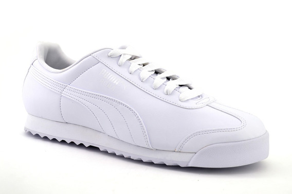Tenis Puma Roma Basico Blanco Mono 353572 21
