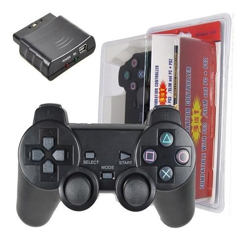 Control Pc Inalambrico Ps3 Ps2  Dualshock 3 En 1