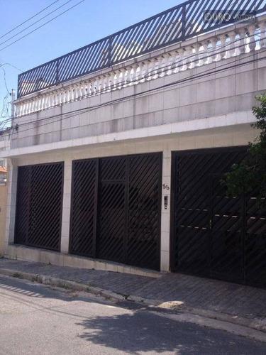 Sobrado Com 2 Dormitórios À Venda, 268 M² Por R$ 830.000,00 - Vila Prudente (zona Leste) - São Paulo/sp - So0803