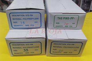 Precintos Pins P/ Pistola Etiquetadora X 5000 Todas Medidas