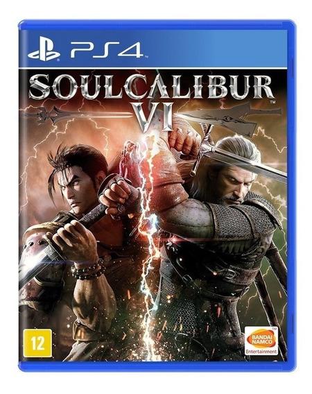 Jogo Soul Calibur Vi - Ps4 Mídia Física Usado