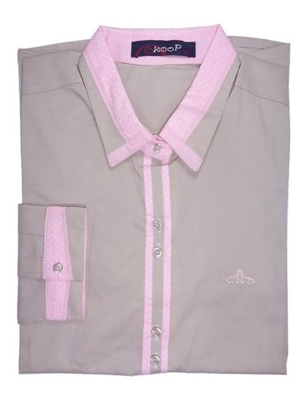 Camisa Social Feminina Moda Evangélica 38 40 42 44