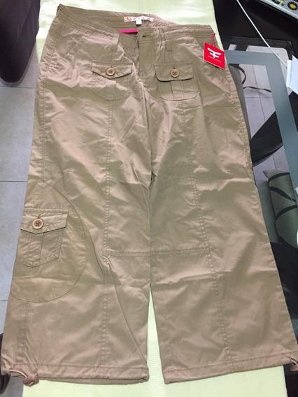 Pantalon Capri Tipo Pescador