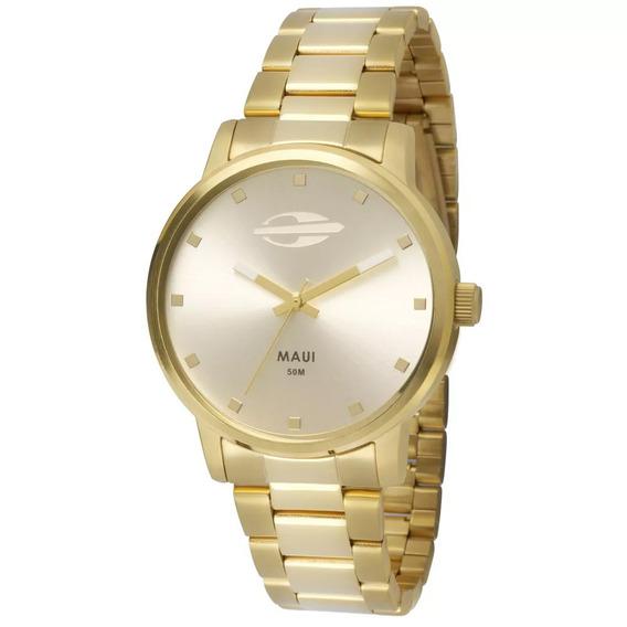 Relógio Analógico Mormaii Maui Mo2035gn/4k