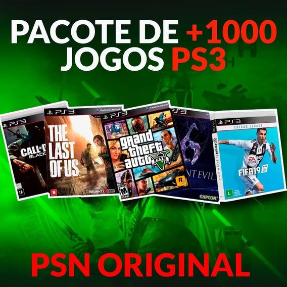 1000 Jogos De Ps3 Mídia Digital Psn