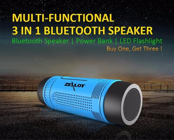 Zealot S1 Multifunções Sem Fio Bluetooth+frete Grátis