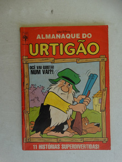 Almanaque Do Urtigão Nº 1! Editora Abril Jan 1987!