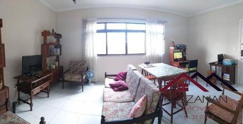 Apartamento 3 Dormitórios Garagem Fechada Santos Sp - 5048