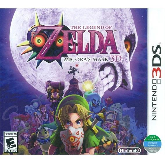 The Legend Of Zelda Majoras Mask 3d Novo Mídia Física 3ds