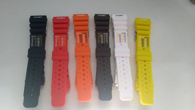 Pulseiras Silicone Citizen 24mm Co23 Varias Cores