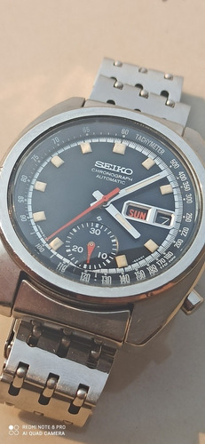 Vintage Seiko Bruce Lee 6139-6012 Original Cronógrafo 12/72