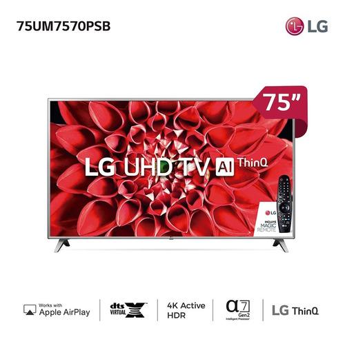 Smart Tv 75  Ultra Hd LG Uhd75um7570 - Garantía Oficial